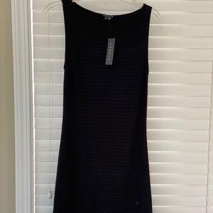 NWT Theory knit ribbed midi dress, size S